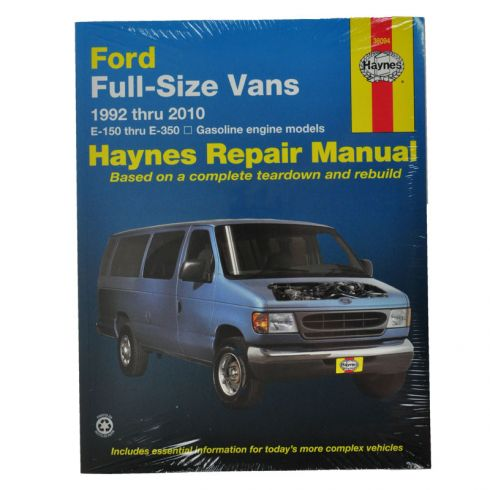 Ford Full Size Van Haynes Repair Manual