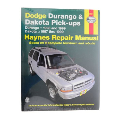1997-99 Dodge Durango Dakota Haynes Repair Manual