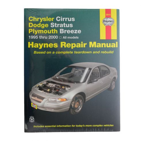 1995-00 Cirrus Stratus Breeze Haynes Repair Manual