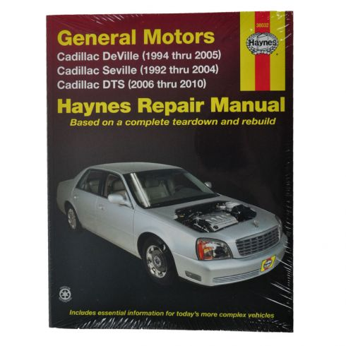 Seville Haynes Repair Manual