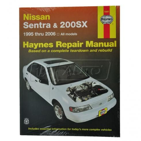 and 200SX Haynes Repair Manual