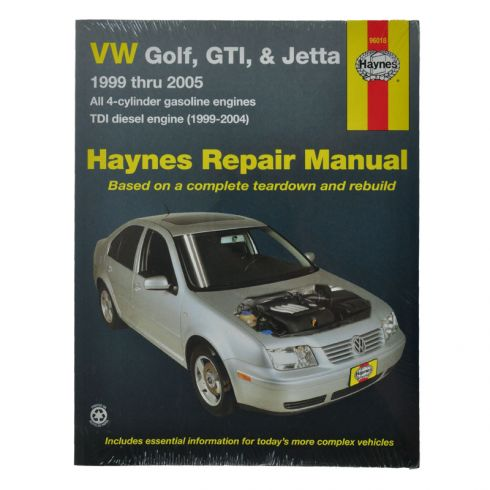 VW Golf GTI and Jetta Haynes Repair Manual