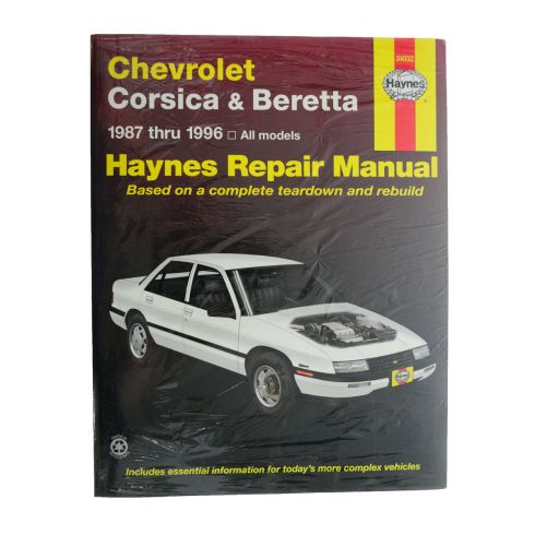 87-96 Chevy Corsica and Beretta Haynes Repair Manual