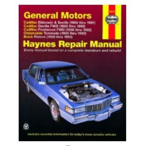86-93 GM Full Size Sedan Haynes Repair Manual