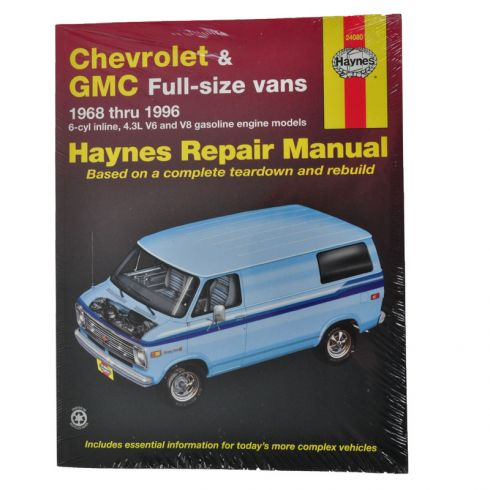 Chevy Vans Haynes Repair Manual