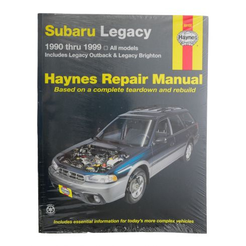 90-99 Subaru Lagacy Haynes Repair Manual