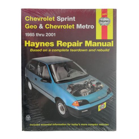 85-01 Geo Metro Haynes Repair Manual