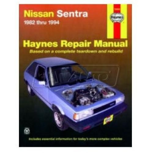 1982-94 Nissan Sentra Haynes Repair Manual