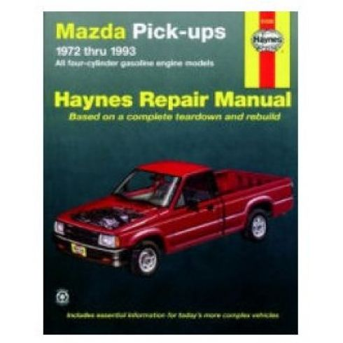 1972-93 Mazda Pickup Haynes Repair Manual