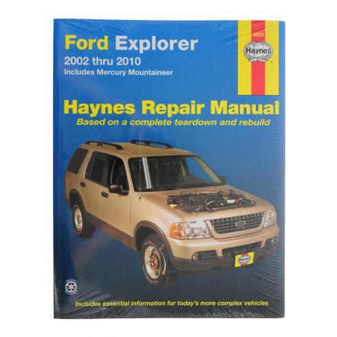 02-06 Ford Explorer and Mercury Mountaineer Haynes Repair Manual