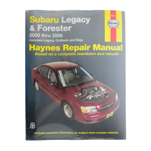 2000-06 Subaru Legacy Forester Haynes Repair Manual