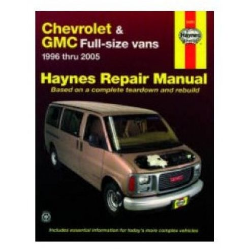 1996-05 Chevy Express GMC Savana Van Haynes Repair Manual