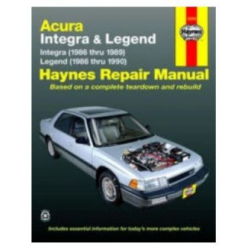 1986-90 Acura Integra Legend Haynes Repair Manual