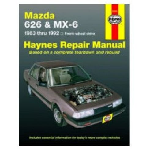 1983-92 Mazda 626 & MX6 Haynes Repair Manual