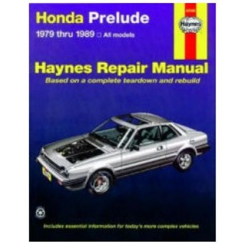 1979-89 Honda Prelude CVCC Haynes Repair Manual