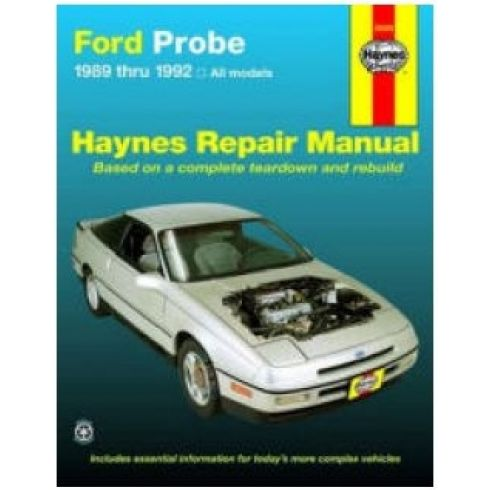 1989 ford probe manual free. Black Bedroom Furniture Sets. Home Design Ideas