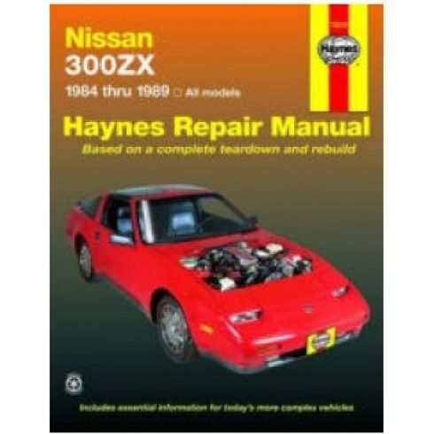 1984-89 Nissan 300 ZX Haynes Repair Manual