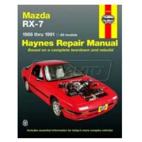 1986-91 Mazda RX-7 Haynes Repair Manual