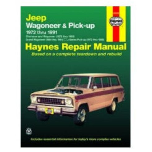1972-91 Jeep Wagoneer J Series Haynes Repair Manual