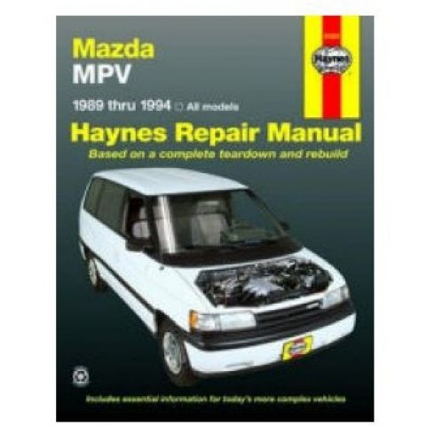 1989-94 Mazda MPV Haynes Repair Manual