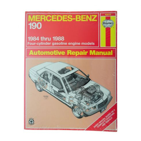 1984-88 Mercedes Benz 190 Series Haynes Repair Manual