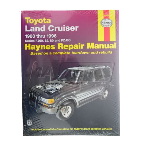 1980-96 Toyota Land Cruiser Haynes Repair Manual