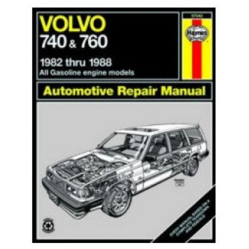 1982-88 Volvo 740 & 760 Haynes Repair Manual