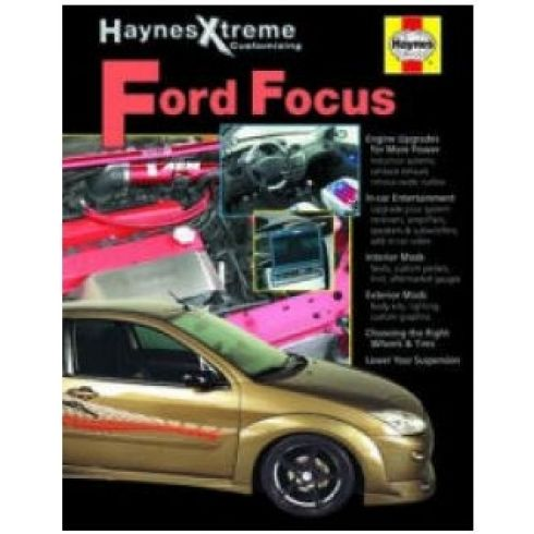 2000-08 Ford Focus Xtreme Haynes Repair Manual