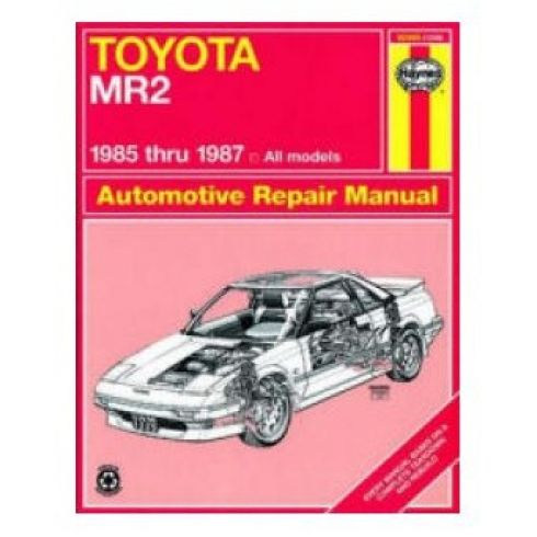 1985-87 Toyota MR2 Haynes Repair Manual