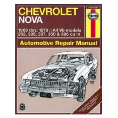 1969-79 Chevy Nova Haynes Repair Manual
