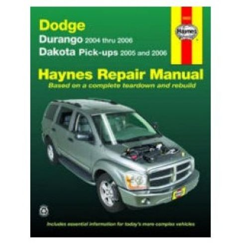 2004-06 Dodge Durango and Dakota Haynes Repair Manual