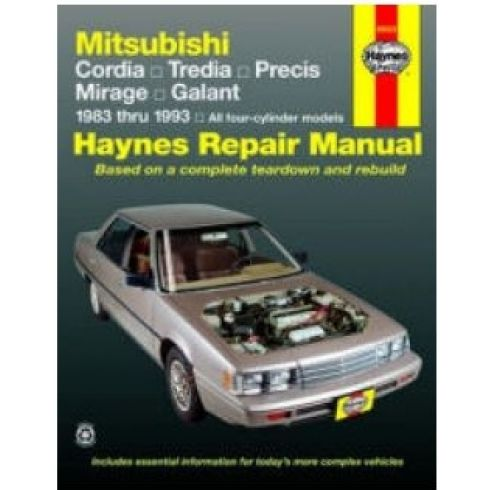 1983-93 Mitsubishi Cars Haynes Repair Manual
