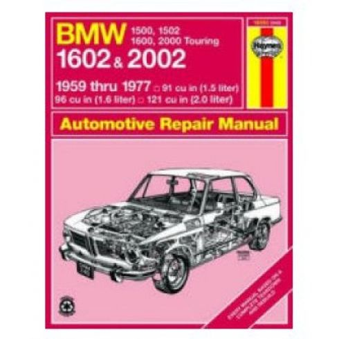 1959-77 BMW 1500 1600 2000 2002 Haynes Repair Manual