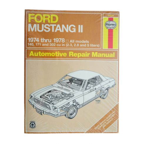 1974-78 Ford Mustang II Haynes Repair Manual