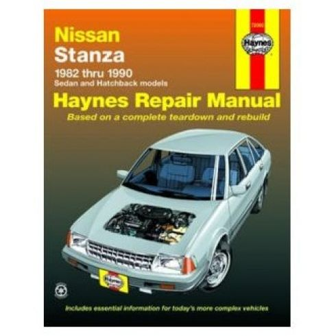 1982-90 Nissan Stanza Haynes Repair Manual