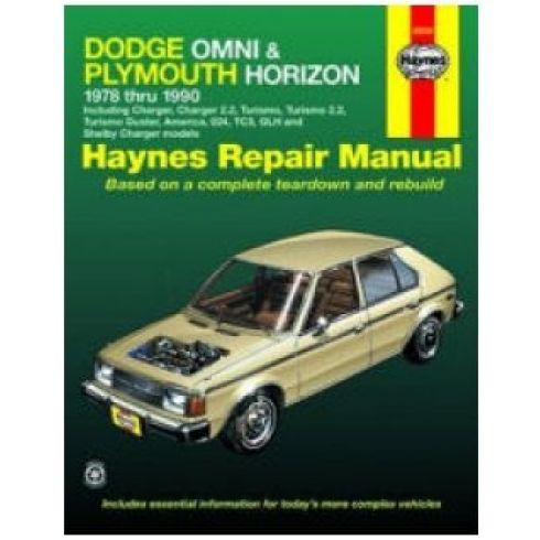 1978-90 Dodge Omni Plymouth Horizon Haynes Repair Manual