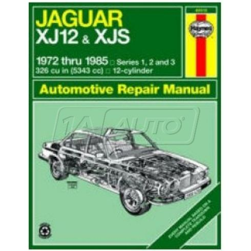 1972-85 Jaguar XJ12 & XJS Haynes Repair Manual