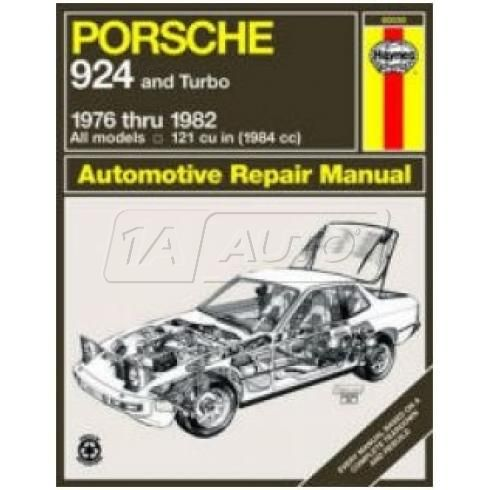 1976-82 Porsche 924 Haynes Repair Manual