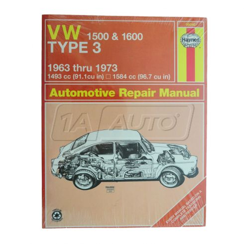 1963-73 VW Type 3 1500 & 1600 Haynes Repair Manual