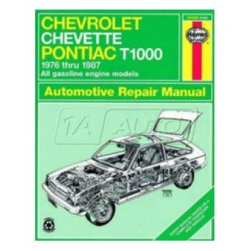 1976-87 Pontiac T1000 Chevy Chevette Haynes Repair Manual