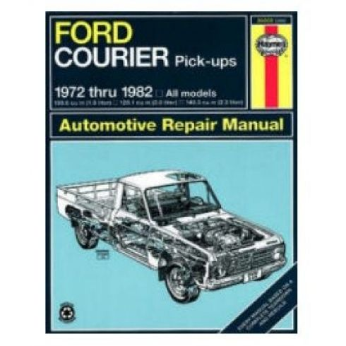 1972-82 Ford Courier Pickup Haynes Repair Manual
