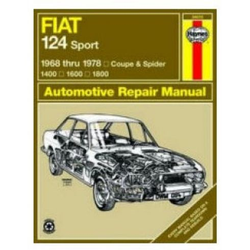 1968-78 Fiat 124 Sport & Spider Haynes Repair Manual