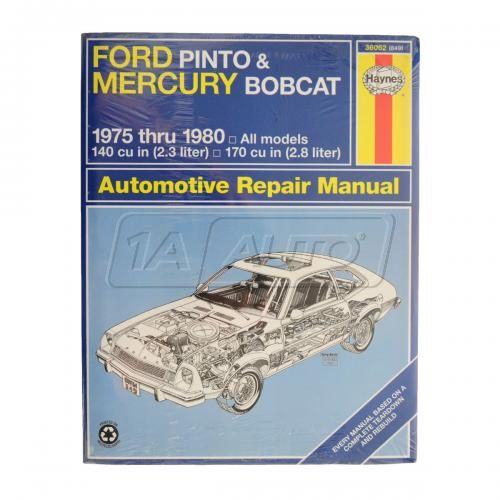 1975-80 Ford Pinto & Mercury Bobcat Haynes Repair Manual