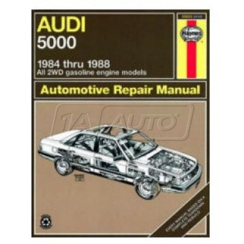 1984-88 Audi 5000 Haynes Repair Manual