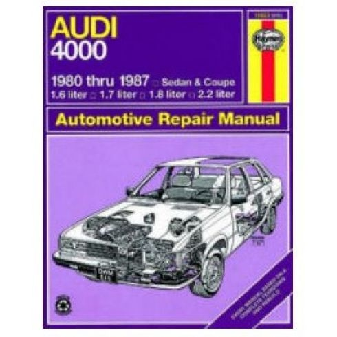 1980-87 Audi 4000 Haynes Repair Manual