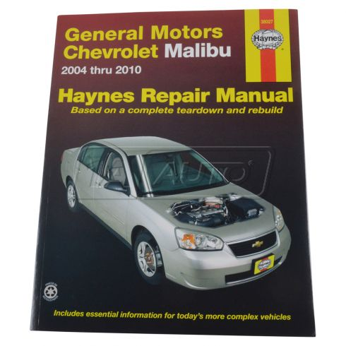 04-07 Chevy Malibu Haynes Repair Manual