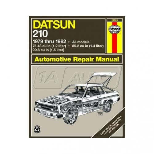 1979-82 Datsun 210 Haynes Repair Manual