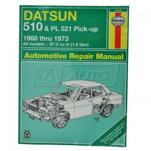 & PL 521Pickup Haynes Repair Manual