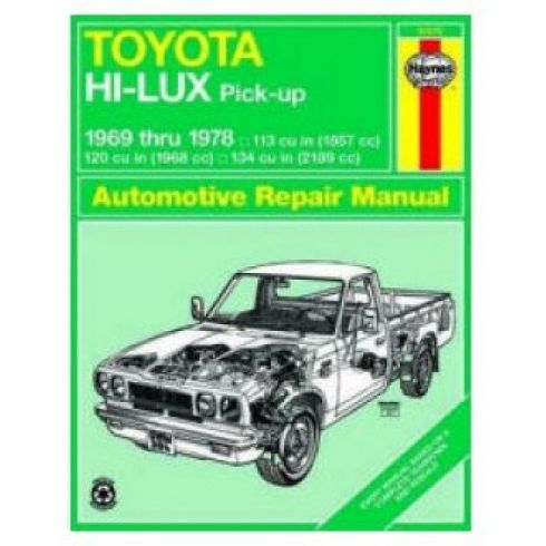 1969-78 Toyota Pickup Haynes Repair Manual