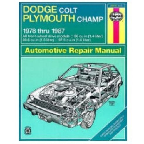 1978-87 Dodge Colt & Plymouth Haynes Repair Manual
